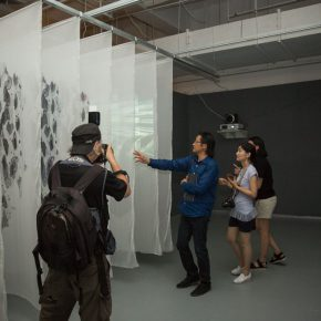 """27 Exhibition view of the """"Loom – the Contemporary Art Exhibition"""""""