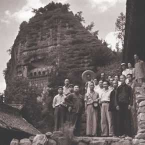 """27 Photo of the investigation group of Maiji Mountain Grottoes Art organized by the Ministry of Culture 1953 290x290 - """"The Dimension of Tradition – Copying and the Collection for the National Traditional Painting by CAFA in the 1950s and 1960s"""""""