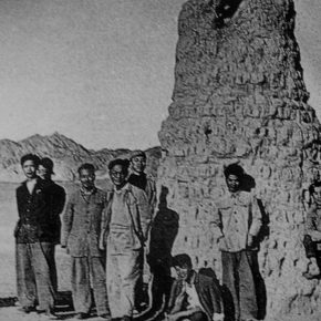 """30 Group photo of Dunhuang Art Investigation Group organized by CAFA Eastern China Branch 1954 290x290 - """"The Dimension of Tradition – Copying and the Collection for the National Traditional Painting by CAFA in the 1950s and 1960s"""""""