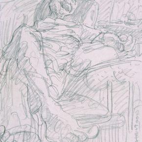 30 Zhu Zhengeng A Sketch pencil on paper 18.5 × 14 cm 2005  290x290 - Zhu Zhengeng