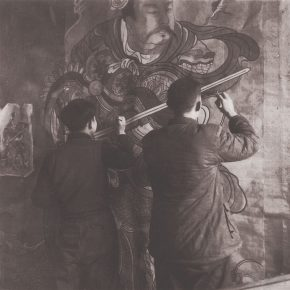 """34 The students from the Department of Chinese Painting CAFA copied mural paintings 1958 290x290 - """"The Dimension of Tradition – Copying and the Collection for the National Traditional Painting by CAFA in the 1950s and 1960s"""""""