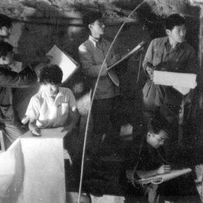 """37 The students of the Department of Art History CAFA practiced in Maiji Mountain 1963 290x290 - """"The Dimension of Tradition – Copying and the Collection for the National Traditional Painting by CAFA in the 1950s and 1960s"""""""