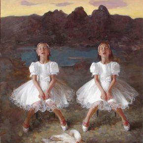 01 Ma Lei, A Swan, 180 x 148 cm, 2008
