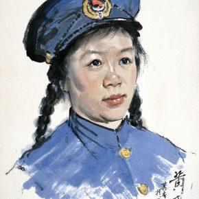 01 Zong Qixiang, Huang Ermei, 40 x 28.5 cm, 1955