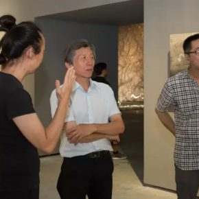 02 Fan Di'an, President of Central Academy of Fine Arts visited the exhibition