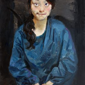 02 Ma Lei Guessing Joyner No.5 oil on paper 90 × 56 cm 2010 1 290x290 - Ma Lei: Self-Projection in the Spiritual World