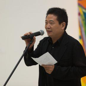 02 Mr. Zhang Zikang, Director of CAFA Art Museum, addressed the opening ceremony