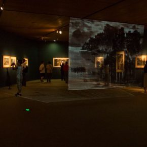 """03 Exhibition view of the """"Harmonized Beauty – Exhibition Commemorating the 100th Anniversary of Zong Qixiang's Birth"""""""