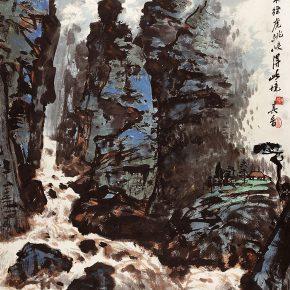 04 Zong Qixiang, The Hutiao Gorge, 121 x 70.3 cm, 1993