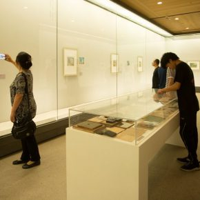 """05 Exhibition view of the """"Harmonized Beauty – Exhibition Commemorating the 100th Anniversary of Zong Qixiang's Birth"""""""