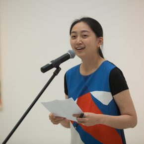 05 Gao Gao, Deputy Director of Curatorial Research Department, chaired the opening ceremony