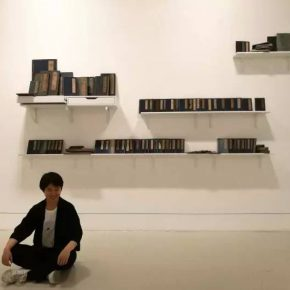 """08 Tang Moxi's recent work """"A Book Can't Be Opened"""""""