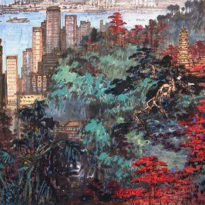 08 Zong Qixiang, The Scenery is Excellent in This Place, 68 x 102 cm, 1985