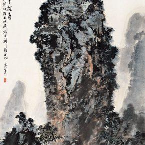09 Zong Qixiang, Discovery of the Flourishing Alone, 46 x 35 cm, 1978