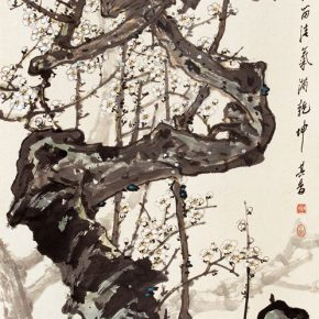 12 Zong Qixiang It Doesn't Need Others to Boast That the Color is Beautiful 136 x 67 cm 1994  290x290 - Zong Qixiang
