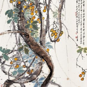 13 Zong Qixiang, Flat Rattans, 109 x 84 cm, 1991