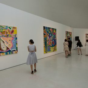 "15 Exhibition View of ""Sailing off the Edge"" 290x290 - Celebration of Life and the Experience of the Sublime: Gillian Ayres' Abstract Painting ""Sailing off the Edge"""