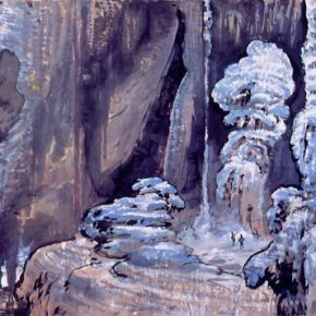 15 Zong Qixiang, Wonders of Water and Rocks, 97 x 265 cm, 1979
