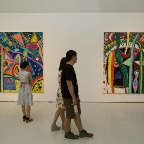 """16 Exhibition View of """"Sailing off the Edge"""""""