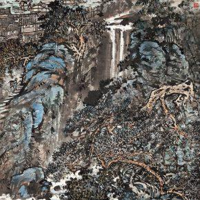 16 Zong Qixiang, Longsheng in Guangxi, 112 x 65.5 cm, 1979