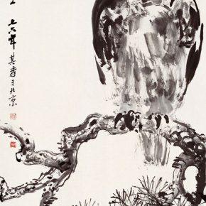 19 Zong Qixiang, A Bright Sky, 137.5 x 68.5 cm, 1976