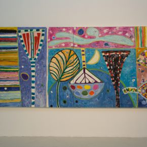 """20 Exhibition View of """"Sailing off the Edge"""""""