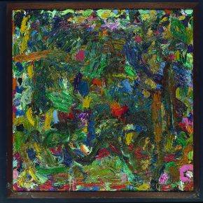"24 Gillian Ayres Phosphor Oil on canvas 152 x 152.5 cm 1979 1980 290x290 - Celebration of Life and the Experience of the Sublime: Gillian Ayres' Abstract Painting ""Sailing off the Edge"""