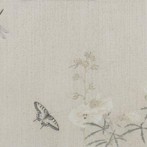 Gao Qian, Hua Jian Ji No.4, 41 x 133 cm, ink and color on paper, 2014