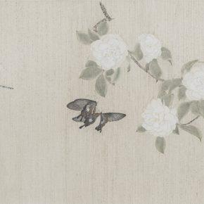 Gao Qian, Hua Jian Ji No.5, 41 x 133 cm, ink and color on paper, 2014
