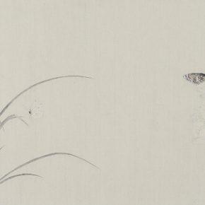 Gao Qian, Yu Jiao Zhi No.2, ink and color on paper, 41 x 131 cm, 2015