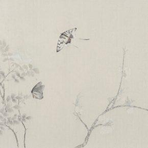 Gao Qian, Yu Jiao Zhi No.3, ink and color on paper, 41 x 131 cm, 2015