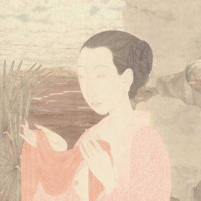 Zhang Jian, Xiren's Secret, 71 x 51 cm, silk, 2007