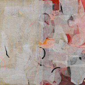 01. Zhou Li, World Inside Windows No.12, 2001; Mixed media on canvas, 150×170cm