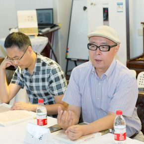 "03 Li Jun Deputy Dean of the School of Humanities CAFA 290x290 - A Founder of Art History Wang Xun's Existing Manuscripts of ""Four Masters of Ancient Suzhou"" was published"