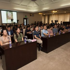 "03 Press conference of ""The First National Sculpture Art Exhibition"""