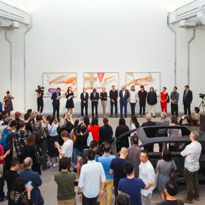 "04 View of the opening ceremony 290x290 - The First Show of ""Next Generation"" Focuses on Young Art Inaugurated the Deutschland 8"