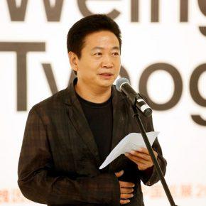 """04 Zhang Zikang Director of CAFA Art Museum 290x290 - First Retrospective Exhibition on the Chinese Mainland: """"Weingart Typography""""  China Touring Exhibition 2017 Unveiled in Beijing"""
