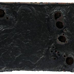 05 Liu Wenjiong, Negative Space – Black No.1, mixed media, 30 × 40 × 9 cm, 2016-2017