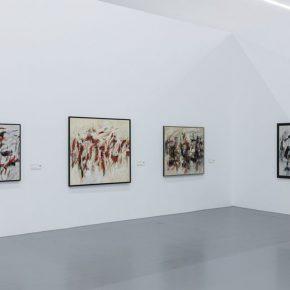 "08 Exhibition View of Prologue – German Informel Art 290x290 - Red Brick Art Museum presents ""Prologue – German Informel Art"" featuring post-war Germany's most important abstract art"
