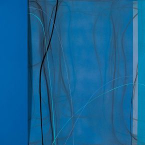 08 Zhou Li Night No.3 mixed media on canvas 150 x 250 cm 2017 290x290 - Ring as State, Breath as Root: Zhou Li Talked about the State of Creating