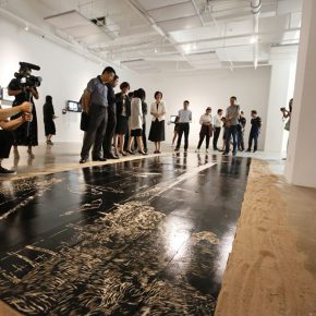 """10 Exhibition view of """"The Sea of Hope"""""""