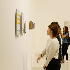 """10 Exhibition view of """"Weingart Typography"""" China Touring Exhibition 2017 · Beijing 290x290 - First Retrospective Exhibition on the Chinese Mainland: """"Weingart Typography""""  China Touring Exhibition 2017 Unveiled in Beijing"""
