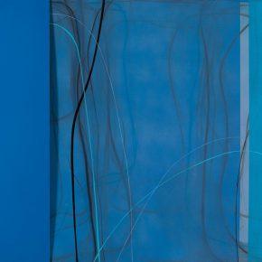 10 Zhou Li, Rhyme of the Night No. 3, 2017; Mixed media on canvas, 150x250cm