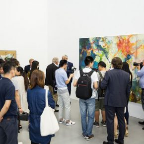 "11 Exhibition View of Prologue – German Informel Art 290x290 - Red Brick Art Museum presents ""Prologue – German Informel Art"" featuring post-war Germany's most important abstract art"