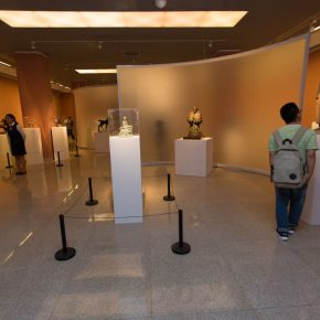 "11 Exhibition view of ""The First National Sculpture Art Exhibition"""