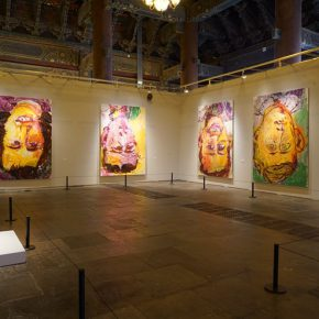 """11 Installation view of the exhibition 1 290x290 - Panoramic View of Post-War German Art: """"Deutschland 8"""" Exhibition is in Full Swing"""