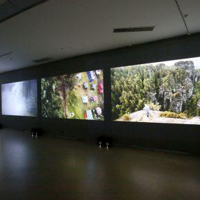"11 Julian Rosefeldt Meine Heimat ist ein düsteres wolkenverhangenes Land 290x290 - Today Art Museum Presents ""Arrested Time: New Media Art from Germany"""