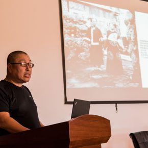 """11 Symposium of """"30 Years of Chinese Video Art"""" – Prof. Yang Xiaoyan delivered a speech 290x290 - The Discussion Waiting for a Conclusion: Symposium of 30 Years of Chinese Video Art"""