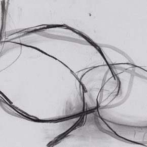 11 Zhou Li Line sketch of the sculpture mixed media on paper 27 x 39 cm 2017 290x290 - Ring as State, Breath as Root: Zhou Li Talked about the State of Creating