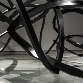 12 Zhou Li The Ring of Life stainless steel 2017 details 290x290 - Ring as State, Breath as Root: Zhou Li Talked about the State of Creating